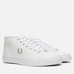 Женские кеды Fred Perry Haydon Mid Leather White фото- 1