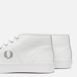 Женские кеды Fred Perry Haydon Mid Leather White фото- 5