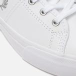 Женские кеды Fred Perry Haydon Mid Leather White фото- 7