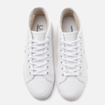 Женские кеды Fred Perry Haydon Mid Leather White фото- 4