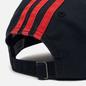 Кепка adidas Originals x 424 Overdye Black/Red фото - 3