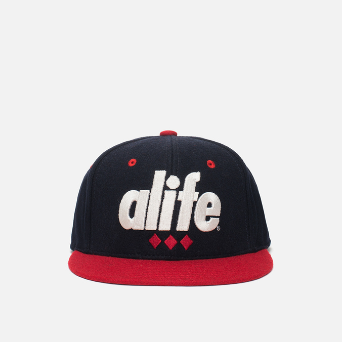 Кепка Alife 3D Snapback Eclipse Blue