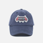 Barbour International Flags Cap Navy photo- 0