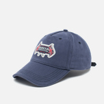 Barbour International Flags Cap Navy photo- 1