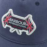 Barbour International Flags Cap Navy photo- 3
