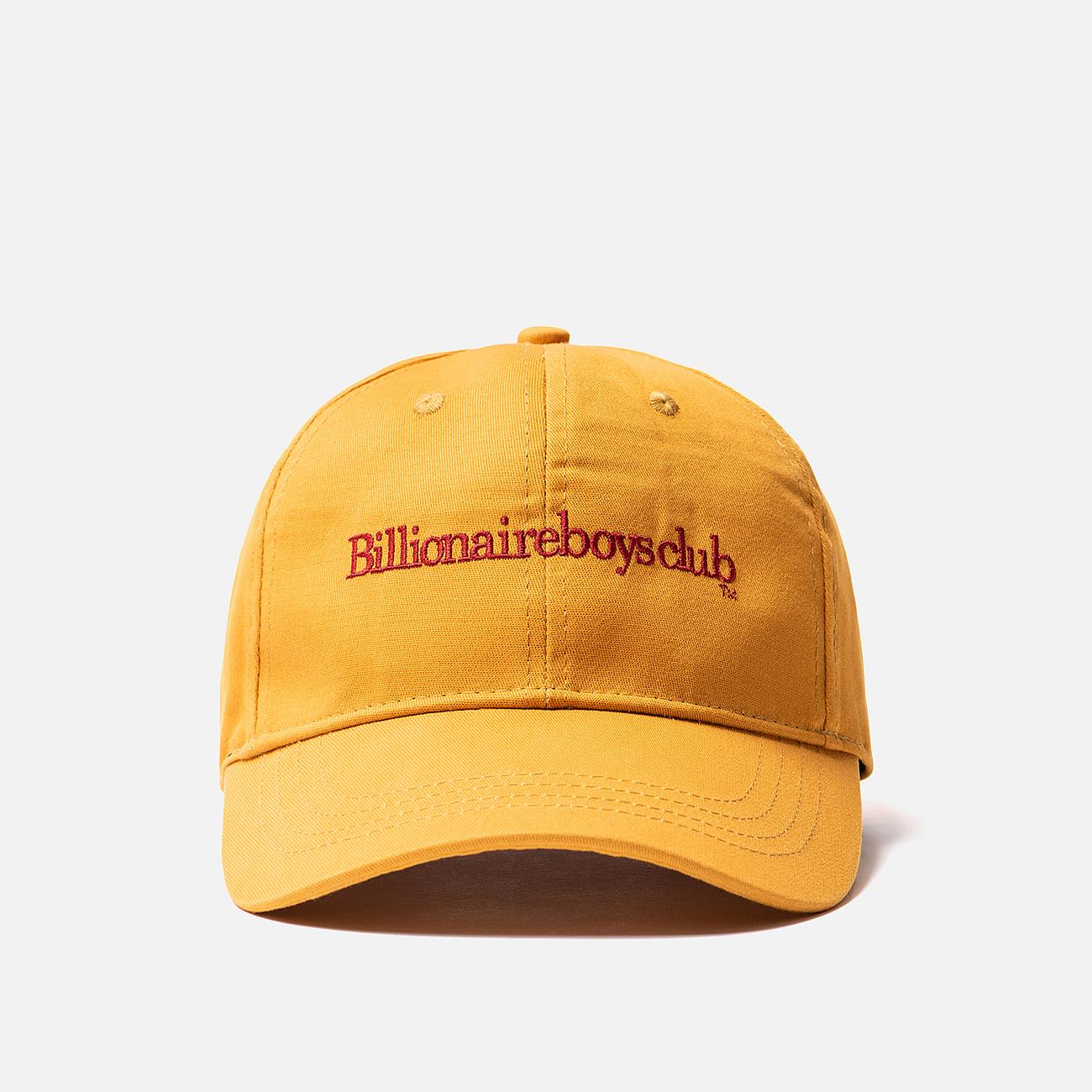 Кепка Billionaire Boys Club Embroidered Curve Visor Golden Yellow