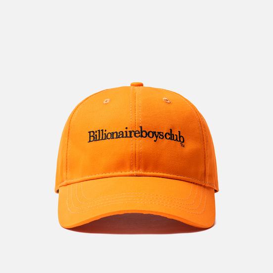 Кепка Billionaire Boys Club Embroidered Curve Visor Orange