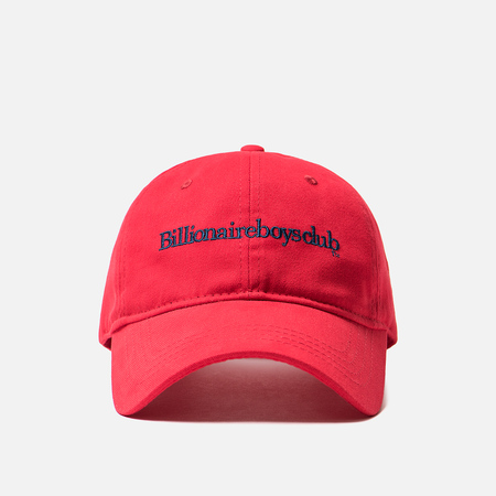 Кепка Billionaire Boys Club Embroidered Curved Visor Red