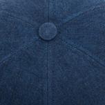 Кепка Bleu De Paname Casquette Baseball Denim 6 Oz Indigo фото- 3