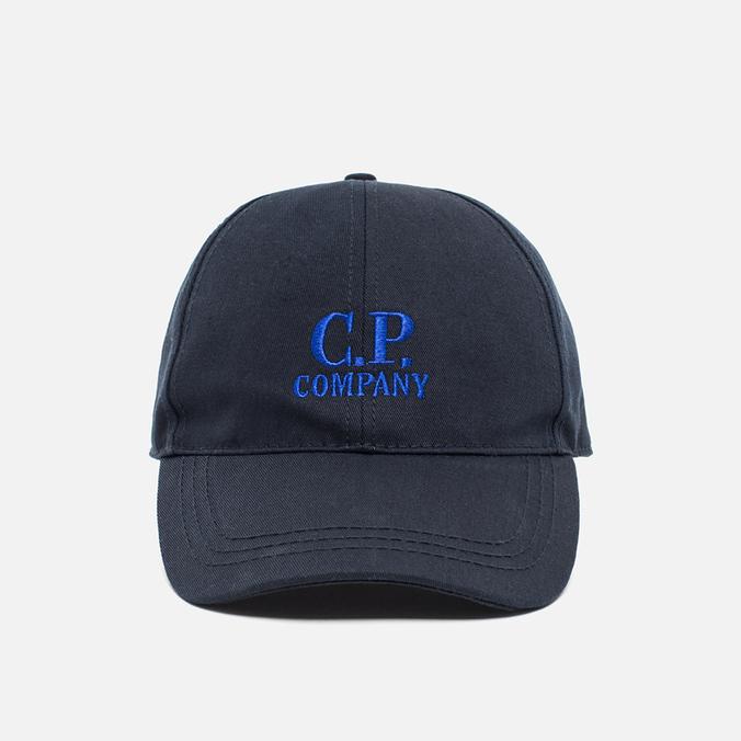 Кепка C.P.Company Cappelino Goggle Blue