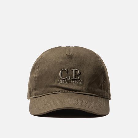 Кепка C.P. Company Goggle Baseball Logo Beech