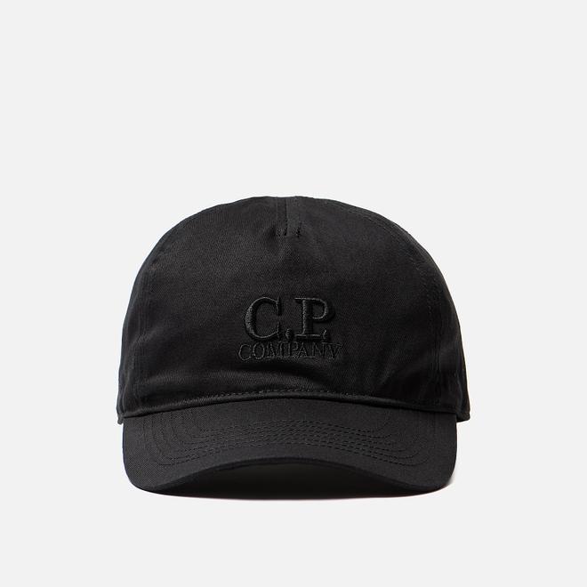 Кепка C.P. Company Goggle Baseball Logo Black