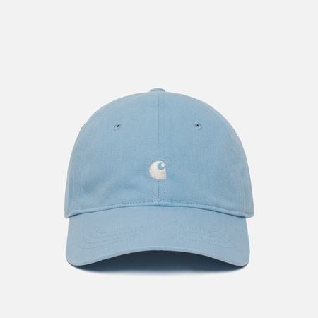 Кепка Carhartt WIP Madison Logo Aquamarine/White