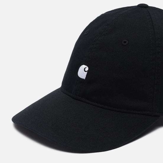 Кепка Carhartt WIP Madison Logo Black/White