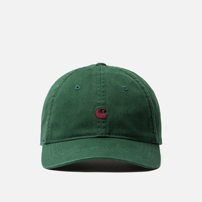 Кепка Carhartt WIP Madison Logo Chrome Green/Merlot