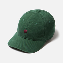 Кепка Carhartt WIP Madison Logo Chrome Green/Merlot фото- 2