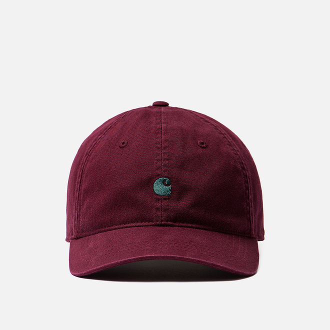 Кепка Carhartt WIP Madison Logo Merlot/Dark Fir