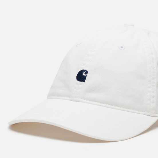 Кепка Carhartt WIP Madison Logo White/Dark Navy