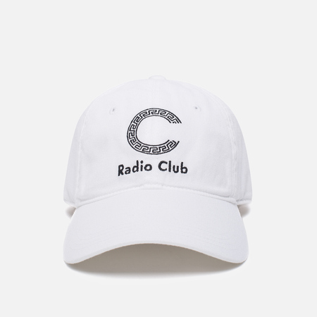 Кепка Carhartt WIP x P.A.M. Radio Club Logo White/Black