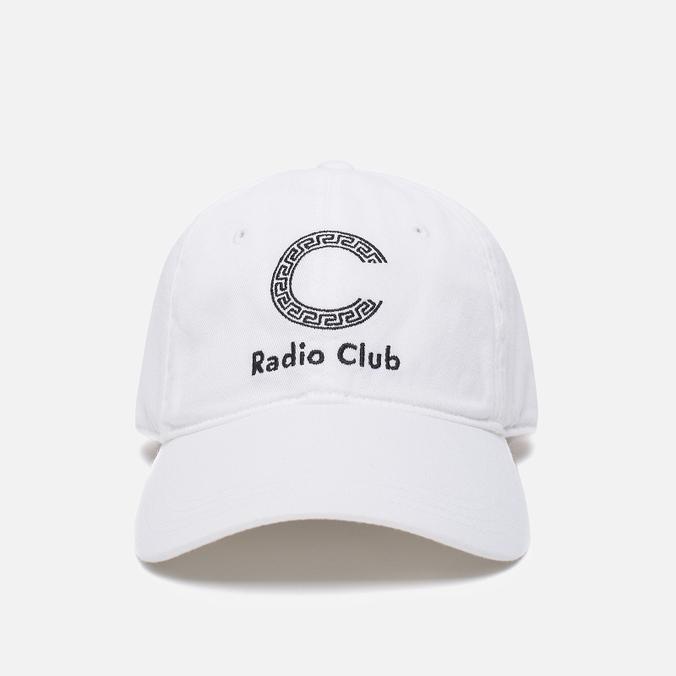 Кепка Carhartt WIP x P.A.M. Radio Club Logo White/Black