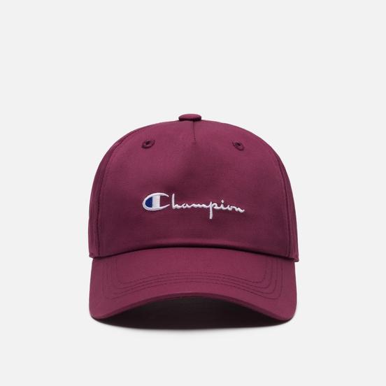 Кепка Champion Reverse Weave Baseball Script Logo Maroon