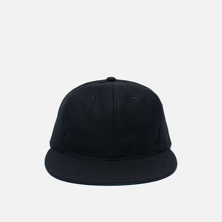 Кепка Ebbets Field Flannels 6 Panel Strap Back Wool Black