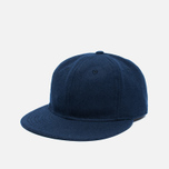 Кепка Ebbets Field Flannels 6 Panel Strap Back Wool Navy фото- 1
