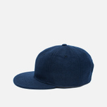 Кепка Ebbets Field Flannels 6 Panel Strap Back Wool Navy фото- 2