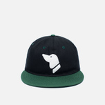 Кепка Ebbets Field Flannels Barbers Point Pointers Twill Cotton Black/Dark Green фото- 0