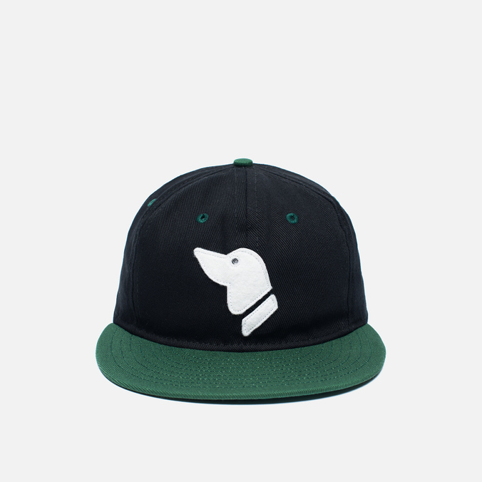 Кепка Ebbets Field Flannels Barbers Point Pointers Twill Cotton Black/Dark Green