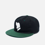Кепка Ebbets Field Flannels Barbers Point Pointers Twill Cotton Black/Dark Green фото- 1