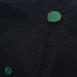 Кепка Ebbets Field Flannels Barbers Point Pointers Twill Cotton Black/Dark Green фото- 3
