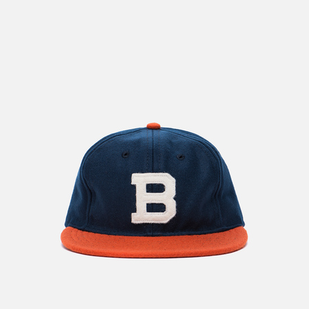 Кепка Ebbets Field Flannels Brooklyn Bushwicks 1949 Wool Navy