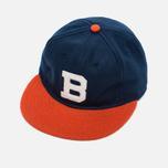 Кепка Ebbets Field Flannels Brooklyn Bushwicks 1949 Wool Navy фото- 1