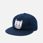 Ebbets Field Flannels Kansas City Katz 1961 Wool Cap Navy photo- 1