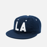 Кепка Ebbets Field Flannels Los Angeles Angels 1954 Wool Navy фото- 1