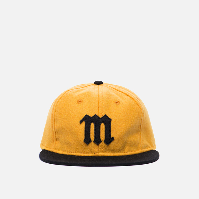 Кепка Ebbets Field Flannels Mariano Tigres 1948 Wool Yellow