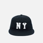 Кепка Ebbets Field Flannels New York Black Yankees 1936 Cotton Twill Black фото- 0