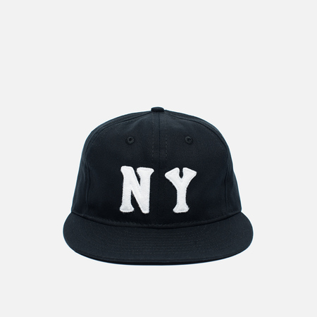 Ebbets Field Flannels New York Black Yankees 1936 Cotton Twill Cap Black