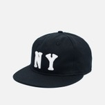 Кепка Ebbets Field Flannels New York Black Yankees 1936 Cotton Twill Black фото- 1