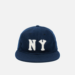 Кепка Ebbets Field Flannels New York Black Yankees 1936 Wool Navy фото- 0