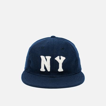 Ebbets Field Flannels New York Black Yankees 1936 Wool Cap Navy