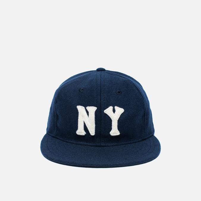 Кепка Ebbets Field Flannels New York Black Yankees 1936 Wool Navy