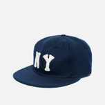 Кепка Ebbets Field Flannels New York Black Yankees 1936 Wool Navy фото- 1