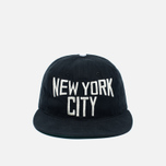 Кепка Ebbets Field Flannels New York City Lennon Cotton Black фото- 0