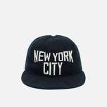 Ebbets Field Flannels New York City Lennon Cotton Cap Black photo- 0