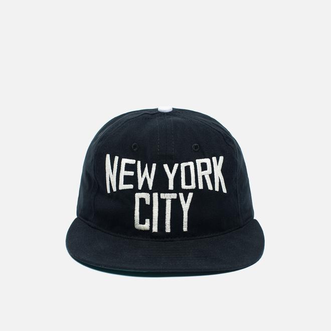 Кепка Ebbets Field Flannels New York City Lennon Cotton Black