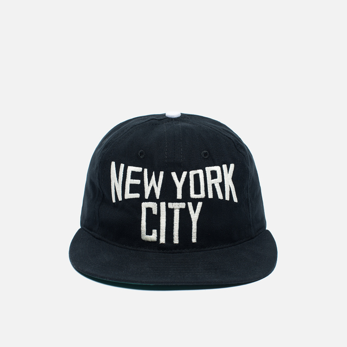 Кепка Ebbets Field Flannels New York City Lennon Cotton Black