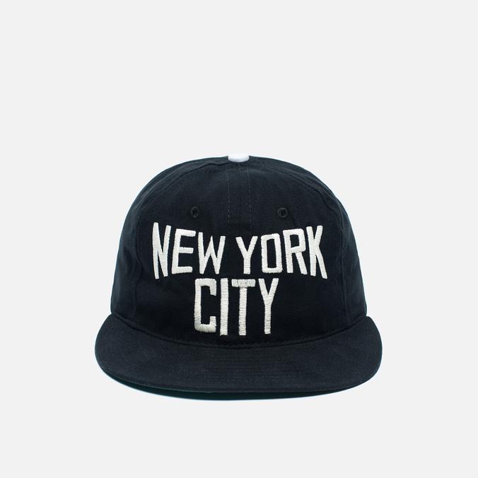 Ebbets Field Flannels New York City Lennon Cotton Cap Black