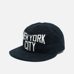Ebbets Field Flannels New York City Lennon Cotton Cap Black photo- 1